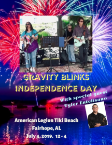 Gravity blinks Independence day